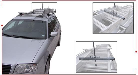 Leiterhalter für Autodach