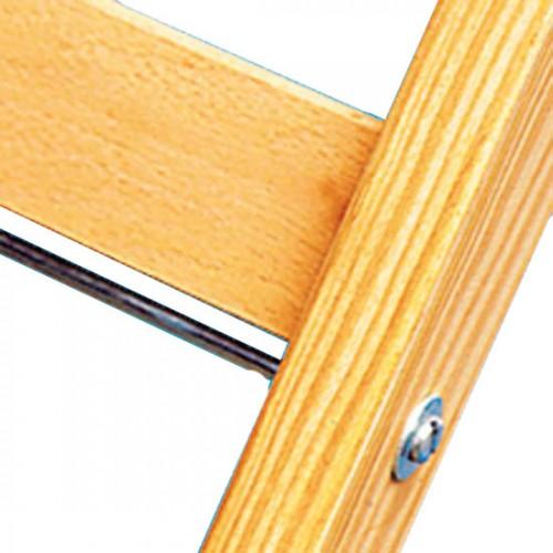 Zarges Holz Stehleiter Crestamax B 2x5 Sprossen