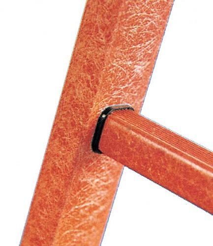 Zarges Vollkunststoff-Sprossen-Stehleiter EFA B 2x4 Sprossen