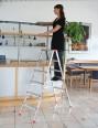 Günzburger Doppelleiter 2x5 Stufen-small