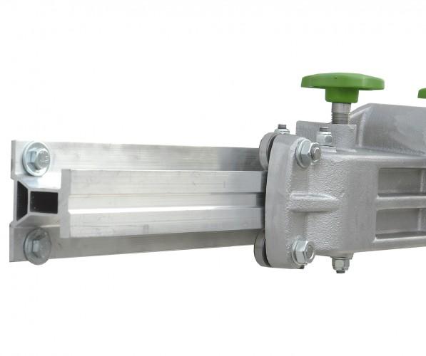 Facal Binary Schiebe-Podesttreppe Aluminium S600 8 Stufen