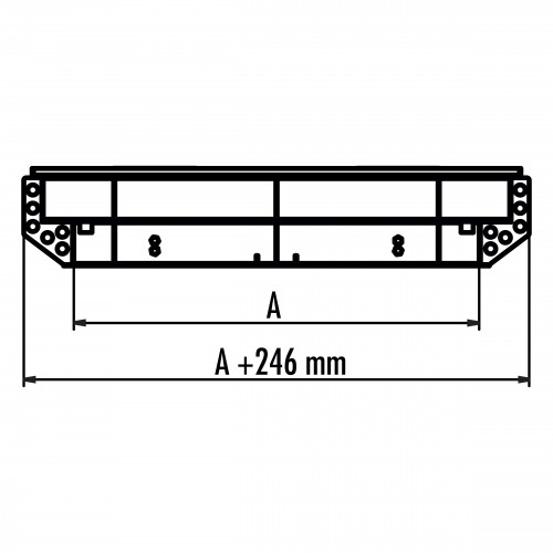 Hailo Schachtabdeckung HS8 Edelstahl rechteckig tagwasserdicht und geruchssicher Klasse B 125kN 1000x1000mm