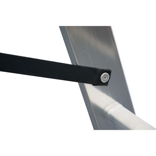 Krause Corda Aluminium-Vielzweckleiter 3x11 Sprossen
