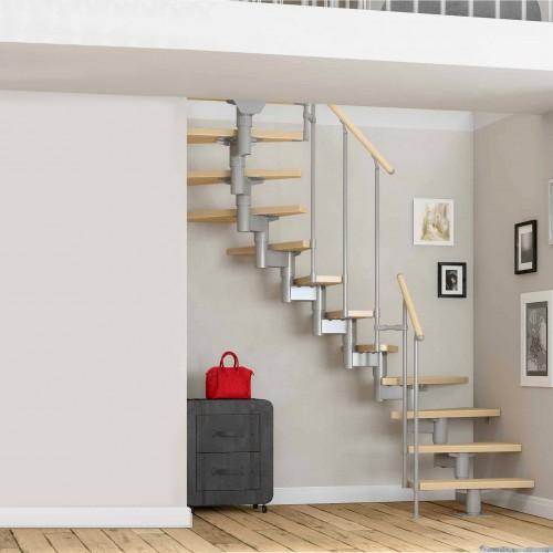 Dolle Mittelholmtreppe Cork für Geschosshöhen 222-292cm