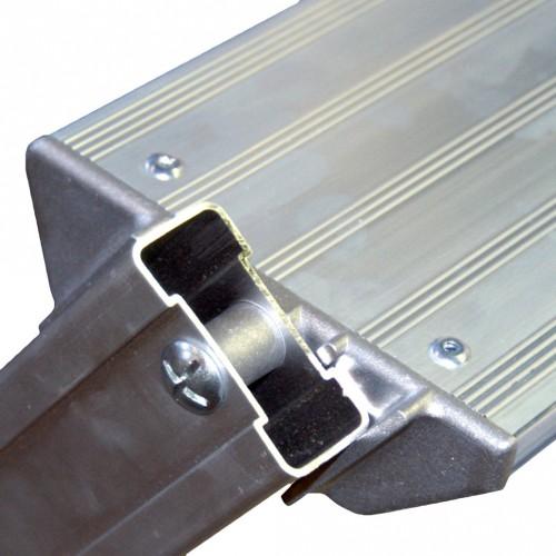 Facal Binary Schiebe-Podesttreppe Aluminium S600