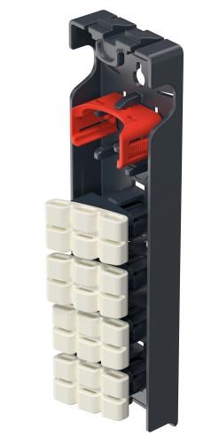 Hailo EasyClix Wechselfuß Set Living Größe L 20x43mm
