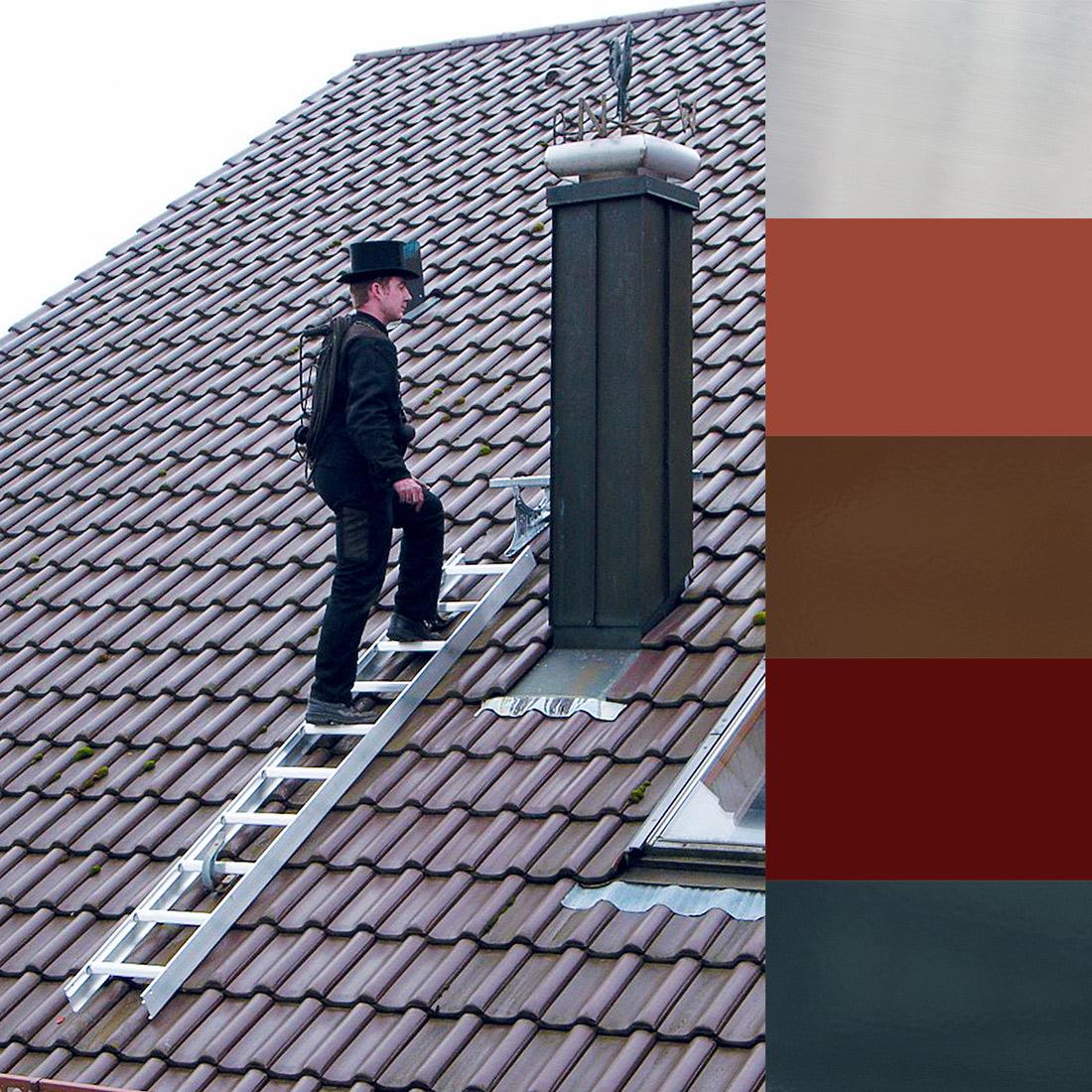 Dachleiter Fur Sicheres Arbeiten Auf Dem Dach