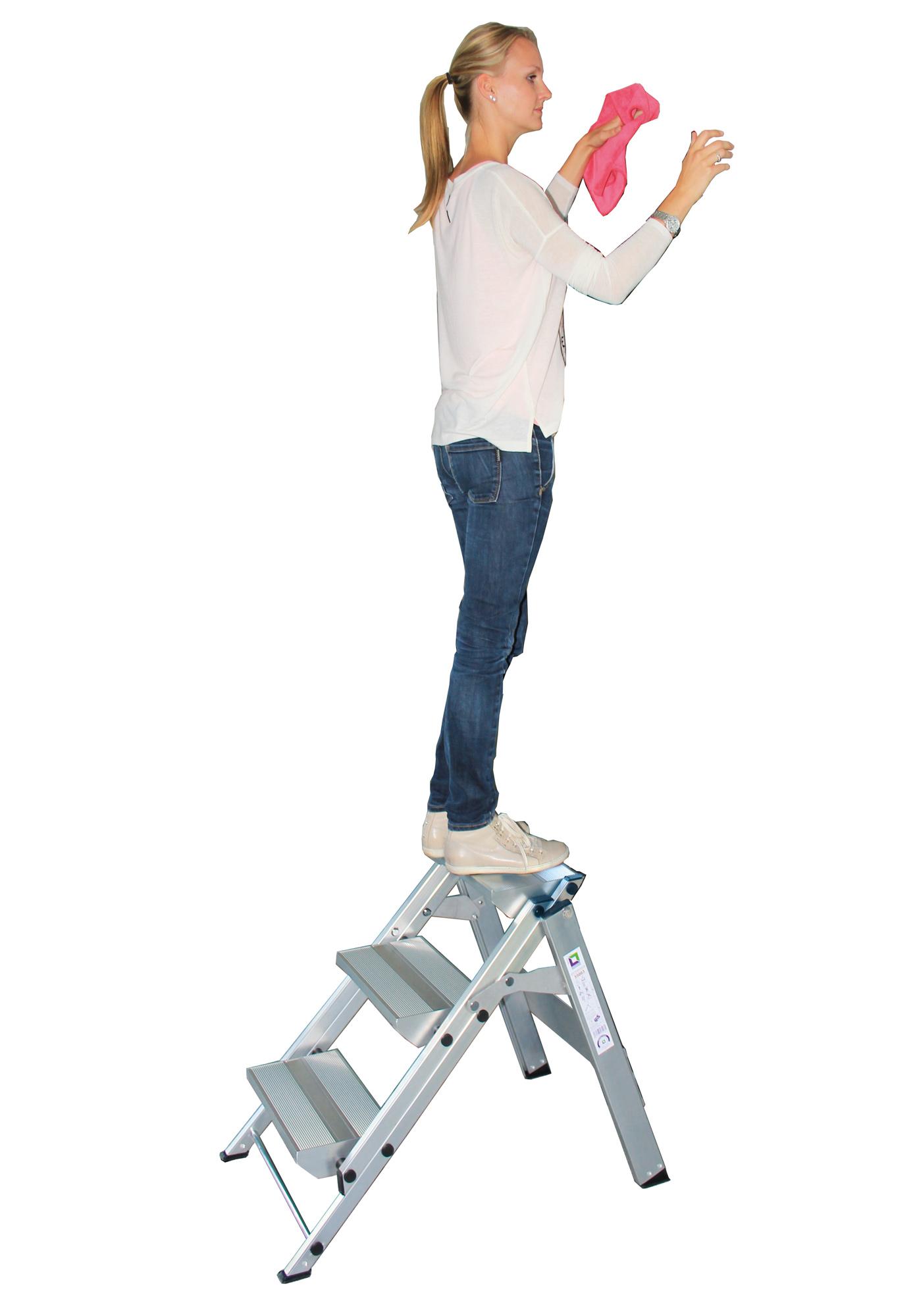g nzburger klapp treppe 2 stufen 2 stufen ohne b gel. Black Bedroom Furniture Sets. Home Design Ideas