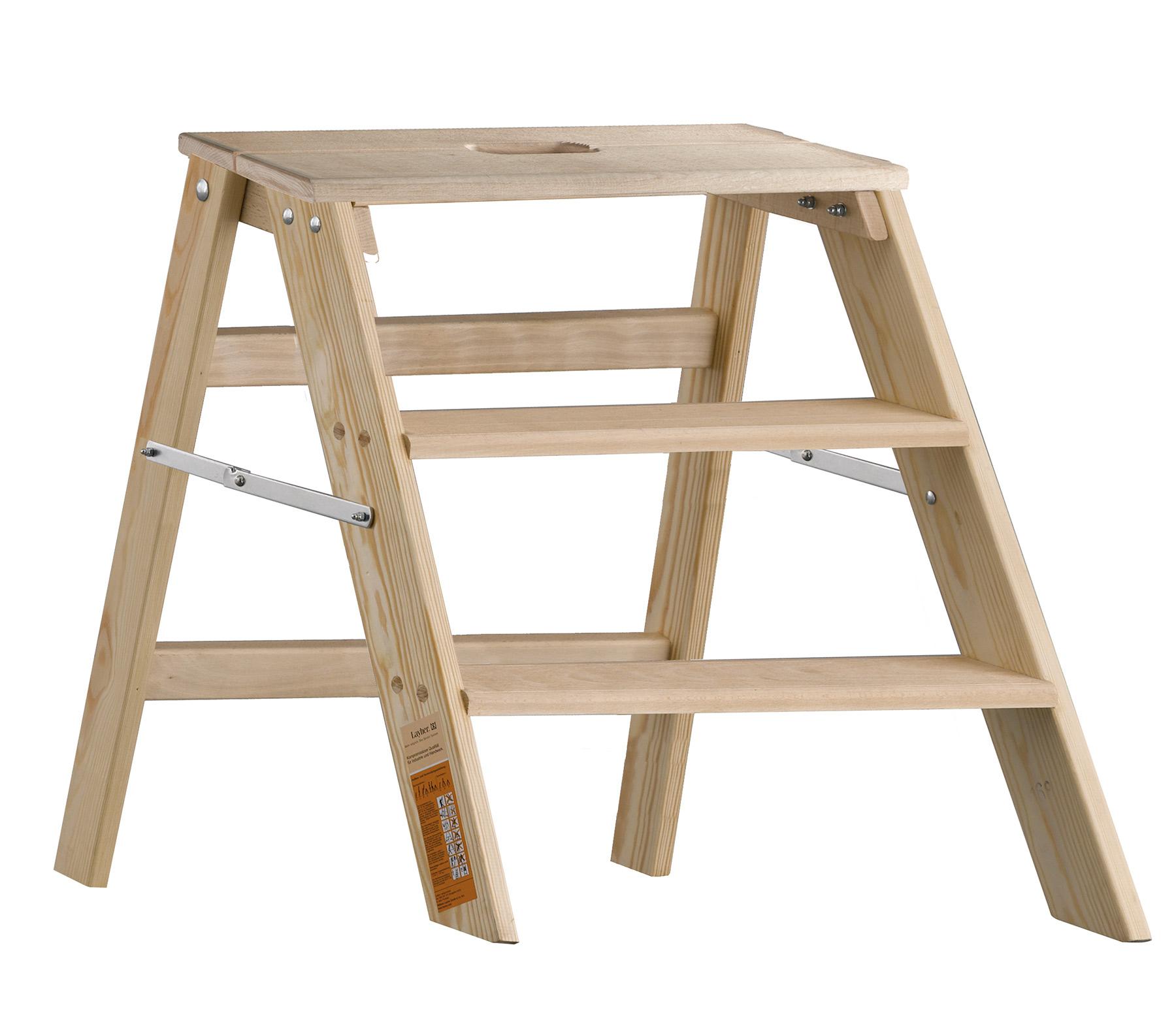 layher 1055 klappbarer holzstufentritt. Black Bedroom Furniture Sets. Home Design Ideas