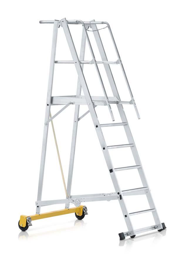 Zarges z600 fahrbare podestleiter klappbar for Escaleras zarges