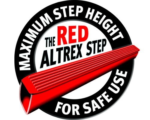 altrex red step