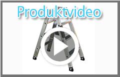Günzburger Doppelleiter mit ErgoPad Video