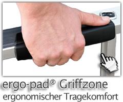 Günzburger Ergp-Pad® Griffzone