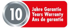 Hailo 10 Jahre Garantie
