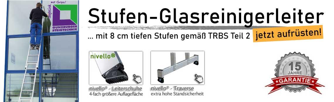 Banner 3 Glasreinigerleiter