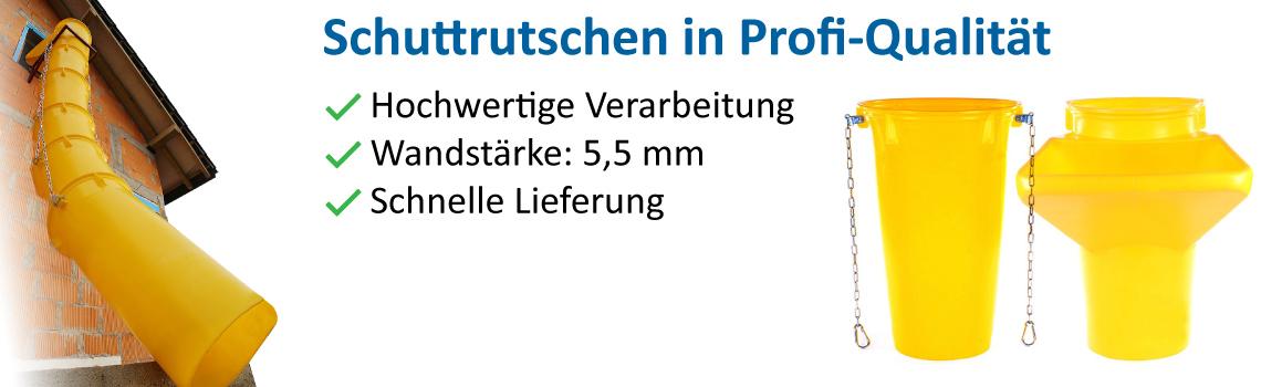 Banner 6 Schuttrutsche
